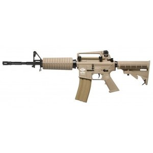 G&G Airsoft G&G CM16 M4 Carbine DST (TAN) w/ Combo Kit!