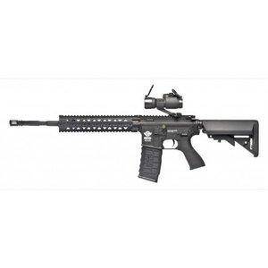 G&G Airsoft G&G CM16 R8 Airsoft Rifle - Black (w/ Red Dot)