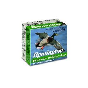 """Remington Remington Sportsman HiSpeed Steel 12 Gauge (3"""" 1-1/4oz #4 Shot) (20991)"""