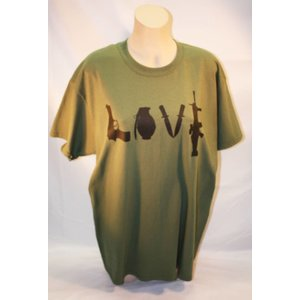 Poco Miltary Love Weapons T-Shirt