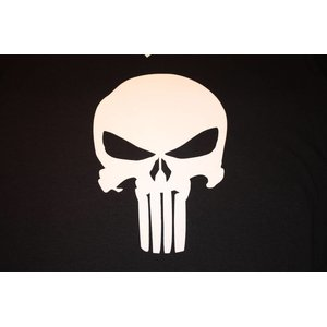 Poco Miltary Punisher Skull T-Shirt