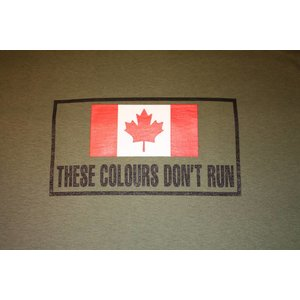 Poco Miltary These Colours Don't Run T-Shirt