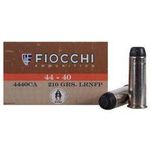 Fiocchi Fiocchi 44-40 (210 Grain) LRNFP (Cowboy Load)