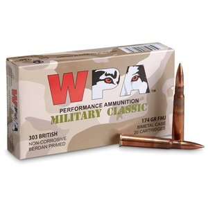 WPA WPA 303 British (Military Classic) 174 Grain (FMJ)