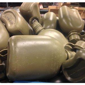 Canadian Military Surplus 1 Quart Plastic Canteen Olive Drab (Surplus / Used)