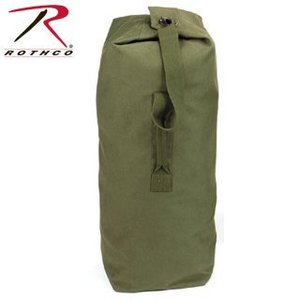 "Rothco Olive Drab Heavyweight Top Load Canvas Duffle Bag (25"" x 42"") #3495"