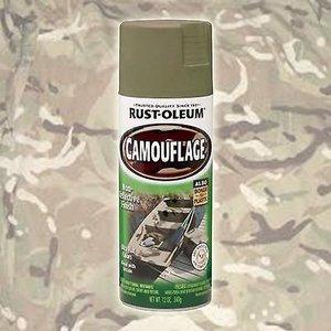 Krylon Rust-Oleum Satin Olive Drab Spray Paint (340 g)