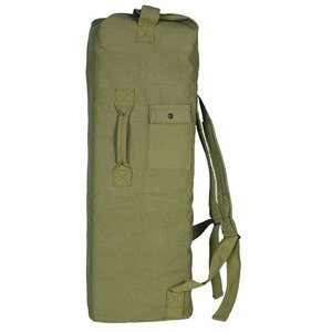 Fox Outdoors Fox Two Strap Canvas Duffle - Olive Drab (40-35)