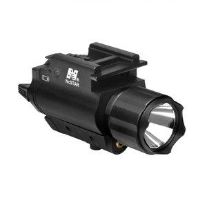 NcStar NcStar 200 Lumen Flashlight & Red Laser - QR Mount (AQPFLS)