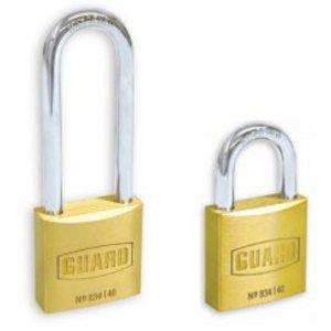 "Guard 1 1/2"" Solid Brass Lock (Double Lock) #834L KD C"