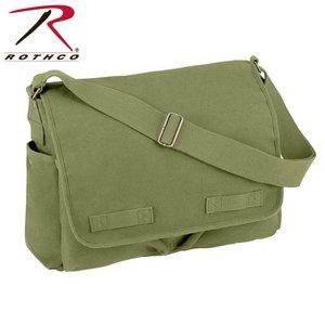 Rothco Rotcho Vintage Shoulder Messenger Bag (Olive Drab) #9148