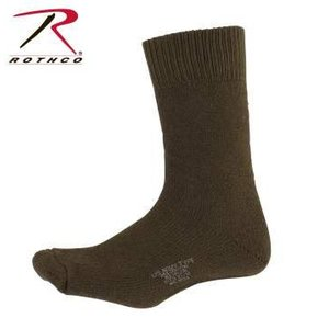 US Military Surplus US Army Type Boot Socks (10-14) Olive Drab (#6150)