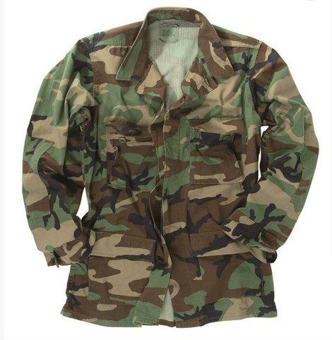 Us Surplus Woodland Bdu Shirt Poco Military