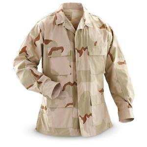 US Military Surplus US Surplus 3-Colour Desert BDU Shirt
