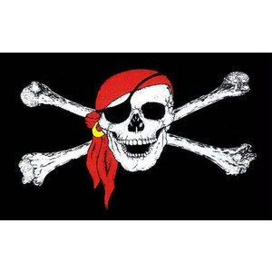 Red Scarf Pirate Flag