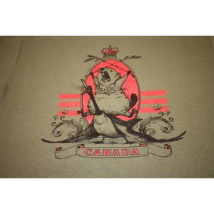 Poco Military Beaver Riding a Goose T-Shirt (OD)