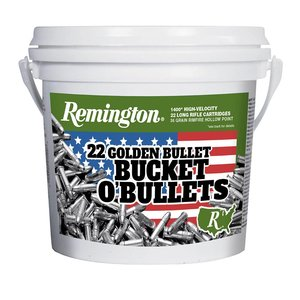 Remington Remington Golden Bullet Bucket O'Bullets- . 22LR (1400 Rounds)