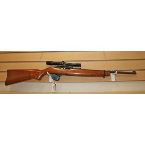 Browning Ruger 10/22 Rifle (Wood) w/ Bushnell Scope