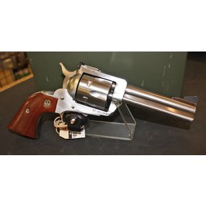 Ruger Ruger New Blackhawk (357 Magnum) Stainless Wood Grips
