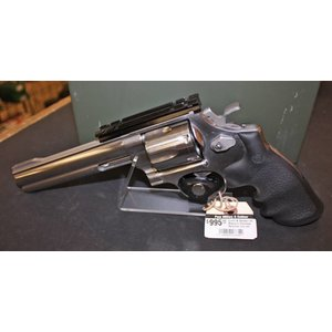 Smith & Wesson Smith & Wesson (44 Magnum) Stainless Revolver c/w rail