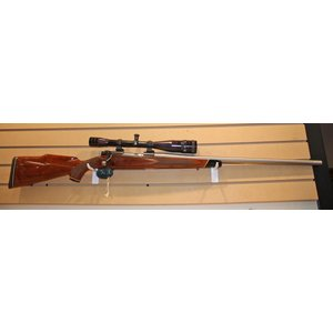 Winchester 22-250 Ackley Rifle (W/ Redfield 24x Scope)