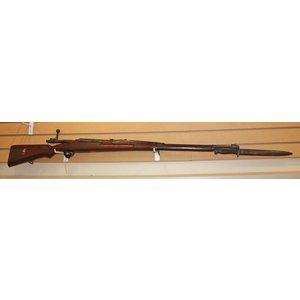 Siamese Mauser Rifle (8x52R) Japanese Made (w/ Bayonet)