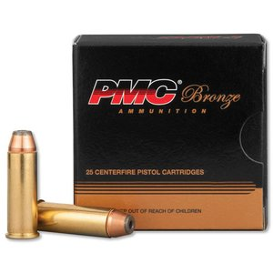 PMC PMC Bronze 44 Remington Magnum - 25 rds (#44B) 180 Grain