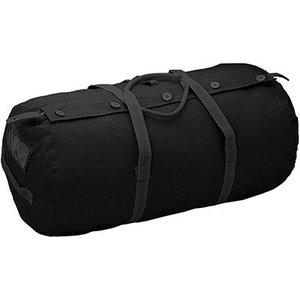 """World Famous World Famous Paratrooper Duffle Bag (Black) 14"""" x 29"""""""