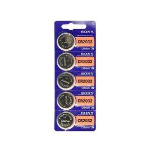 Sony Sony CR2032 5 Pack (Lithium 5v)