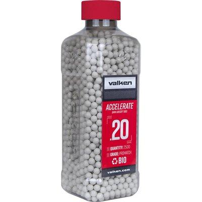 Valken Valken Accelerate 0.20 Gram Biodegradable Airsoft BBs (2500ct Bottle)