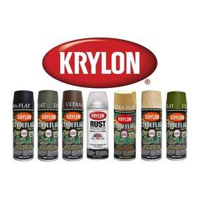 Krylon Krylon Camouflage Spray Paint - Olive Drab (Ultra Flat)