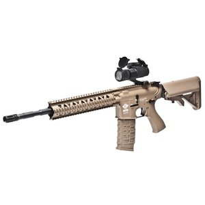 G&G Airsoft G&G CM16 R8 Airsoft Rifle - Tan (w/ Red Dot, Combo Kit)