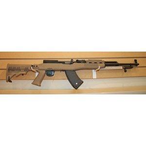 Russian Military Surplus SKS Rifle (Russian) Tan Custom Stock - 7.62 x 39 (W/ 1 Mag)