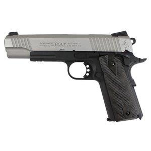 Cybergun Colt 1911 Rail Gun - Silver/Black (Airsoft Pistol Co2) Cybergun #180531