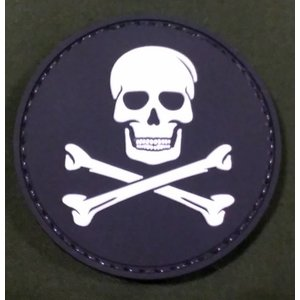 Skull & Crossbones PVC Patch