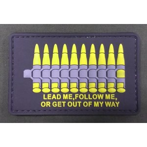 Lead Me, Follow Me PVC Patch