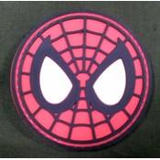 Spiderman Mask PVC Patch