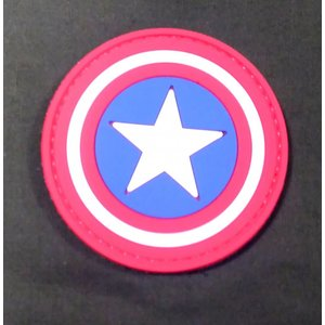 Captain America Shield PVC Patch