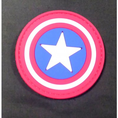 Captain America Shield PVC Patch