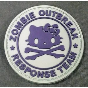 Hello Kitty Zombie Response Team PVC Patch