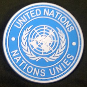 United Nations PVC Patch