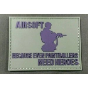 Airsoft Heroes PVC Patch