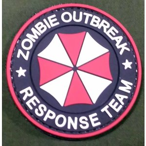 Umbrella Zombie Response Team PVC Patch