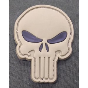 Punisher Skull PVC Patch