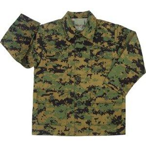 Rothco Kid's MARPAT BDU Shirt (Woodland Digital)