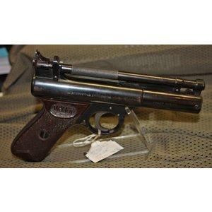 Webley (USED) Webley Senior Air Pistol .(177) Made in UK - C/w Premier Box