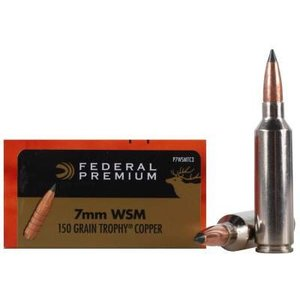Federal Federal 7mm WSM (150 Grain Trophy Copper - #P7WSMTC3