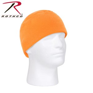 Rothco Rothco ECWS Fleece Toque / Beanie - Orange Safety