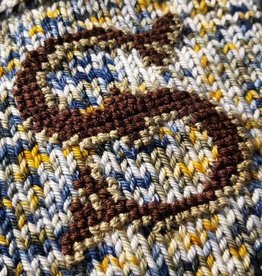 X Marks the Swatch-Knitted Embroidery over Waste Canvas 1/25-2pm-5pm