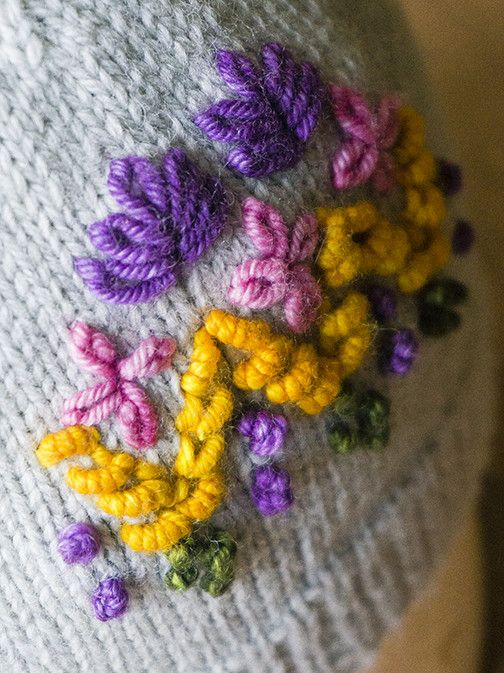 1/26/18 - Embroider Your Knitting : Level Two  2pm-5pm